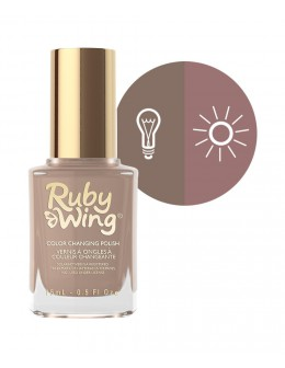 Lakier zmieniający kolor Ruby Wing Nail Lacquer 15ml - Dirtwood