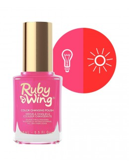 Ruby Wing Nail Lacquer 0.5oz - Pretty In Pink