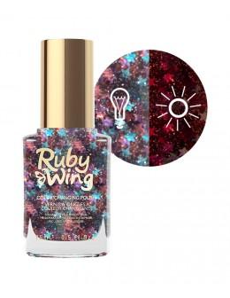 Lakier zmieniający kolor Ruby Wing Nail Lacquer 15ml - Spring Fling Queen