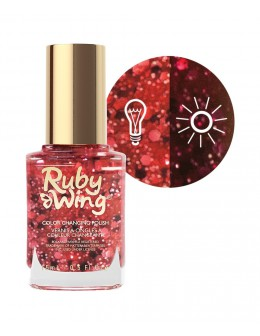 Lakier zmieniający kolor Ruby Wing Nail Lacquer 15ml - Centerfold