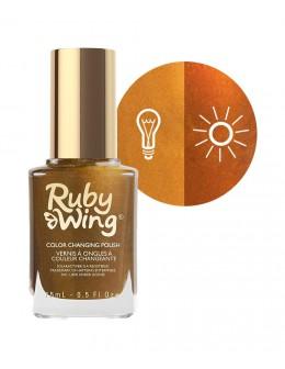 Lakier zmieniający kolor Ruby Wing Nail Lacquer 15ml - Deepest Desire