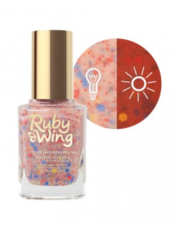 Lakier zmieniający kolor Ruby Wing Nail Lacquer 15ml - Dolled Up