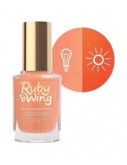 Lakier zmieniający kolor Ruby Wing Nail Lacquer 15ml - Silk Sheets