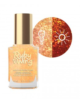 Lakier zmieniający kolor Ruby Wing Nail Lacquer 15ml - Back on the Saddle
