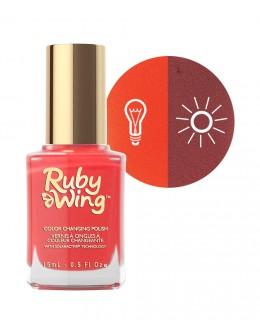 Lakier zmieniający kolor Ruby Wing Nail Lacquer 15ml - Saloon Sweetheart