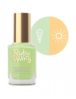 Lakier zmieniający kolor Ruby Wing Nail Lacquer 15ml - Rodeo