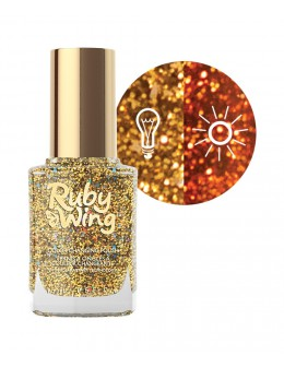 Ruby Wing Nail Lacquer 0.5oz - Ride'em Cowgirl