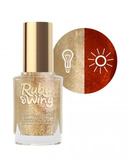 Lakier zmieniający kolor Ruby Wing Nail Lacquer 15ml - Hello Sailor