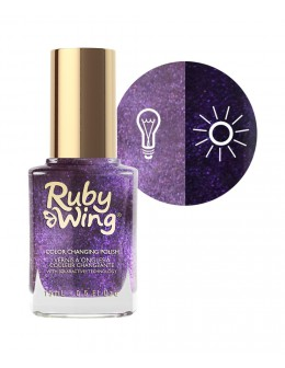 Lakier zmieniający kolor Ruby Wing Nail Lacquer 15ml - Naughtical by Nature