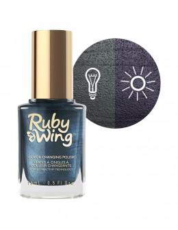 Lakier zmieniający kolor Ruby Wing Nail Lacquer 15ml - Distressed