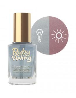 Lakier zmieniający kolor Ruby Wing Nail Lacquer 15ml - Chambray