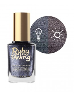 Lakier zmieniający kolor Ruby Wing Nail Lacquer 15ml - Relaxed Fit