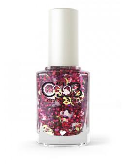Lakier Color Club kolekcja Nailmoji Glitter 15ml - GOAL