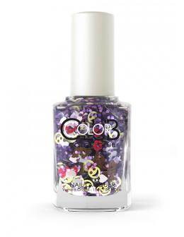 Lakier Color Club kolekcja Nailmoji Glitter 15ml - LOL