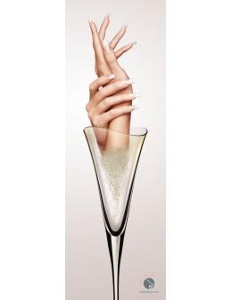 Entity Plakat Champagne