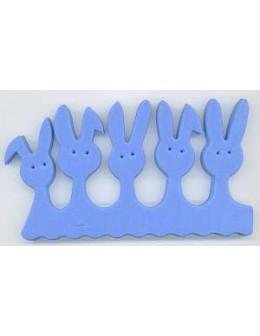 Separatory króliczki (para) - niebieskie
