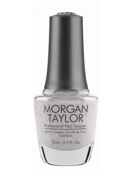 Morgan Taylor Nail Lacquer Wrapped In Glamour Collection 0.5oz - Let's Get Frosty
