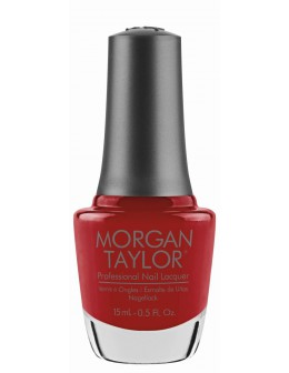 Morgan Taylor Nail Lacquer Wrapped In Glamour Collection 0.5oz - Who Nose Rudolph?