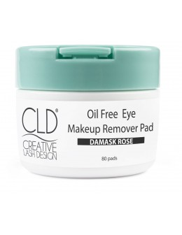 CLD Oil Free Eye Makeup Remover Pad 80 pads