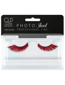 PHOTO Shoot Red Lashes No 1