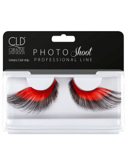 CLD PHOTO Shoot Red Lashes No 2