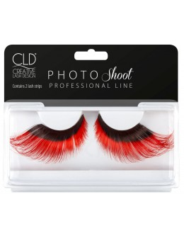 CLD PHOTO Shoot Red Lashes No 3