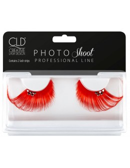 CLD PHOTO Shoot Red Lashes No 4