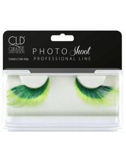CLD PHOTO Shoot Green Lashes No 1