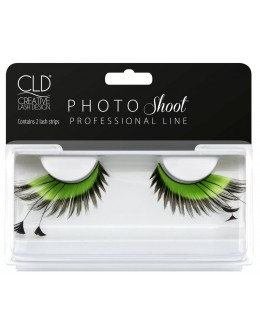 CLD PHOTO Shoot Green Lashes No 2