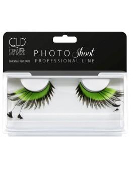 CLD PHOTO Shoot Green Lashes No 2
