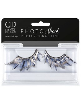 CLD PHOTO Shoot Blue Lashes No 1