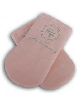 Rękawice ocieplane EF (para) - pastelowy róż
