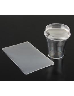 Silikonowy stempelek do zdobień 3.8 cm