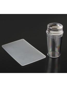 Silikonowy stempelek do zdobień 2.8 cm