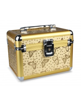 Kuferek na kosmetyki - Golden Butterfly - duży