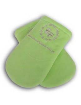 Rękawice ocieplane EF (para) - neonowe zielone