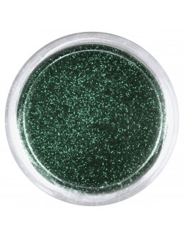 EF Glitter Dust no 004 - metallic dark green
