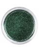 Brokat drobny nr 004 - ciemno zielony metaliczny