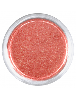 EF Glitter Dust no 004 - Orange, opalescent