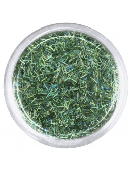 EF Glitter Grass Thin - green, opalescent
