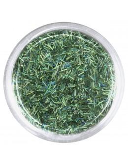 EF Glitter Grass Thin - green, opalescent