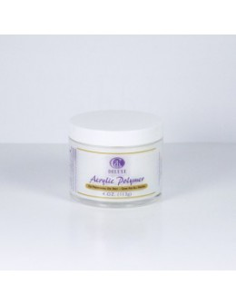 Puder do masy akrylowej Christrio Deluxe Acrylic Polymer French White - 120g - biały