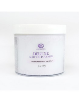 Puder do masy akrylowej Christrio Deluxe Acrylic Polymer French White - 236g - biały