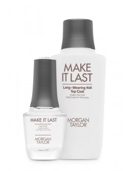 Morgan Taylor Need For Speed Nail Top Coat 0.5oz + 04.oz Supplement