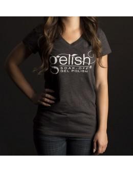 Gelish Koszulka damska Ladies T-Shirt Grey