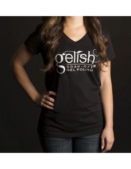 Gelish Koszulka damska Ladies T-Shirt Black