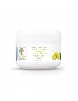 Maska Olive Tree Spa Clinic Pedicure Spa Masque Lemon Martini 30g