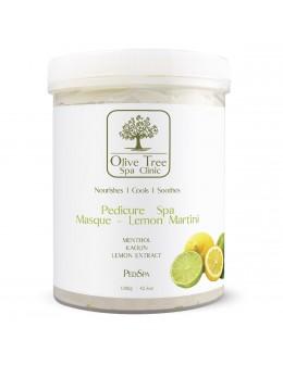 Maska Olive Tree Spa Clinic Pedicure Spa Masque Lemon Martini 1200g