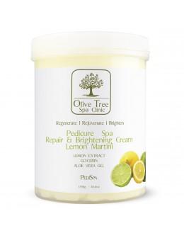 Krem Olive Tree Spa Clinic Pedicure Spa Repair & Brightening Creme Lemon Martini 1150g