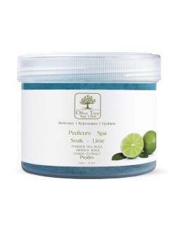 Mydełko Olive Tree Spa Clinic Pedicure Spa Soak Lime 600g